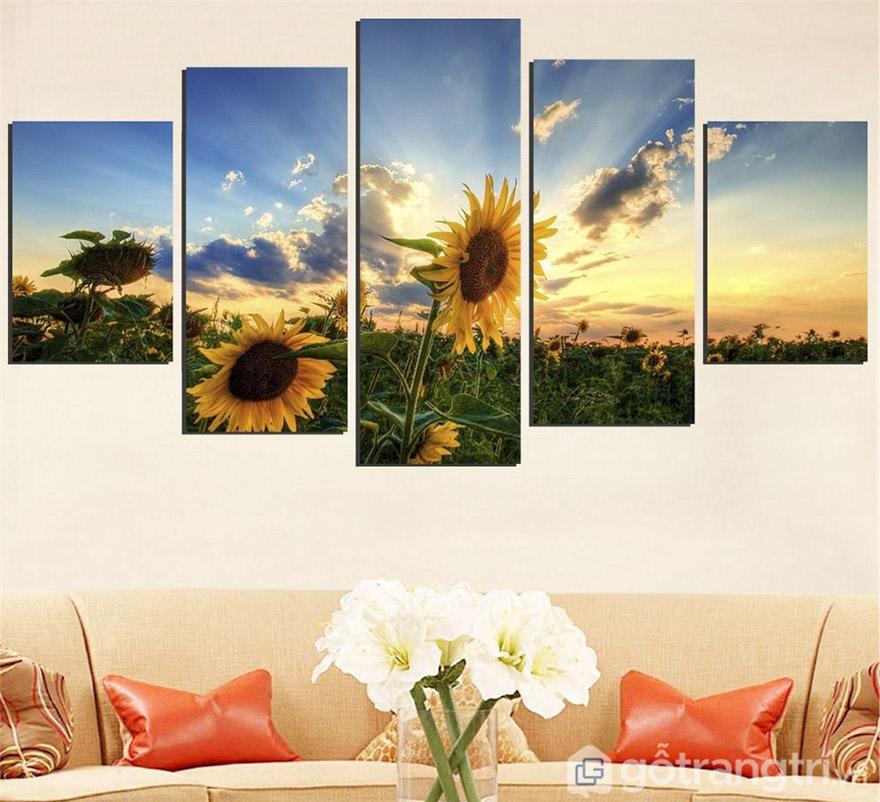 Tranh bộ treo tường về thiên nhiên, phong cảnh có phải là lựa chọn của bạn?