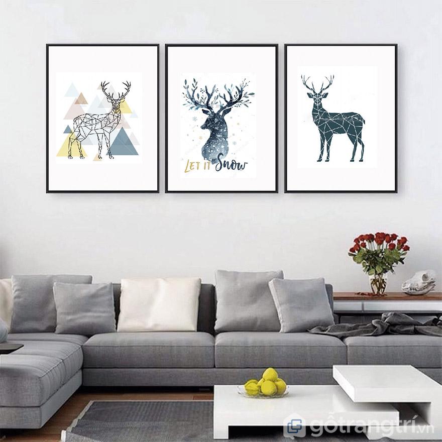 Màu sắc tươi sáng phù hợp với nội thất cũng là cách để tạo điểm nhấn cho không gian.