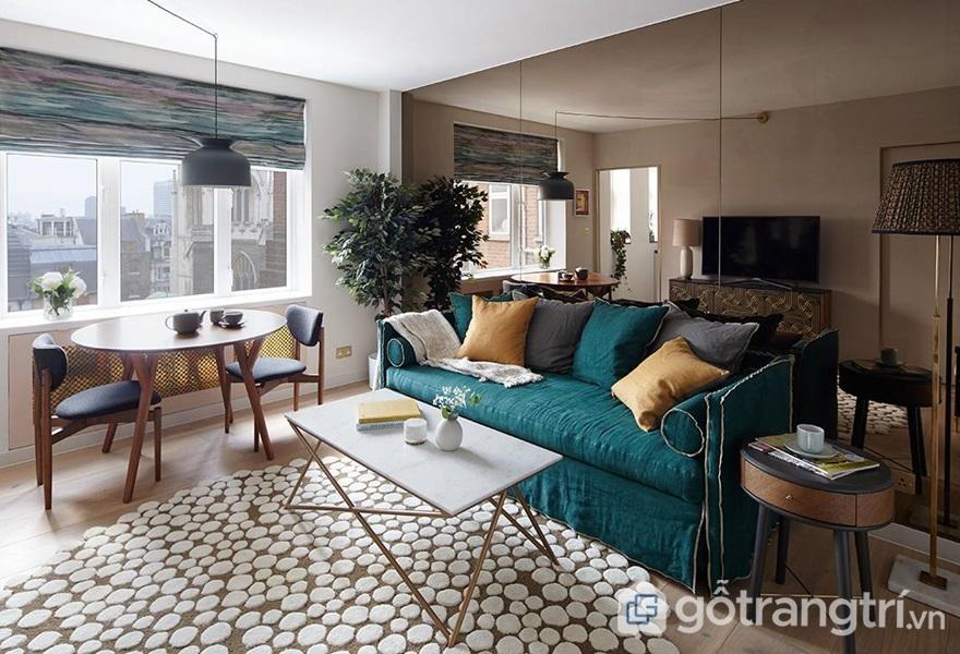 Gỗ và vải có thể được dùng trong những món đồ nội thất và phụ kiện trang trí - ảnh internet