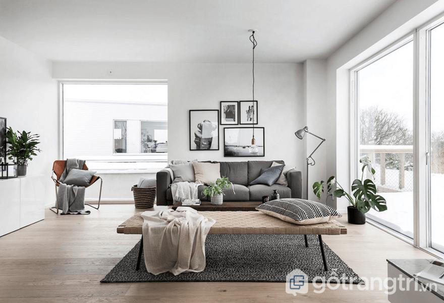 Phong cách nội thất Bắc Âu cho người mệnh Thủy - ảnh internet
