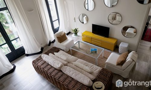 Ứng dụng phong thủy vào thiết kế phòng khách