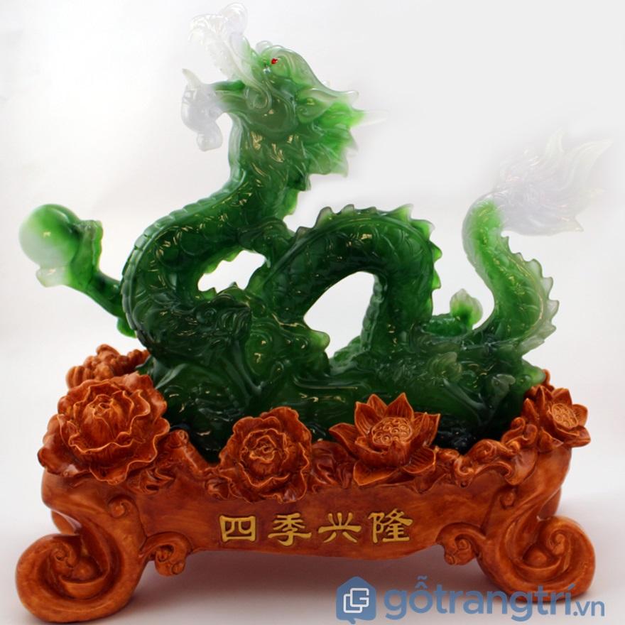 Rồng phong thủy được làm từ ngọc - ảnh internet