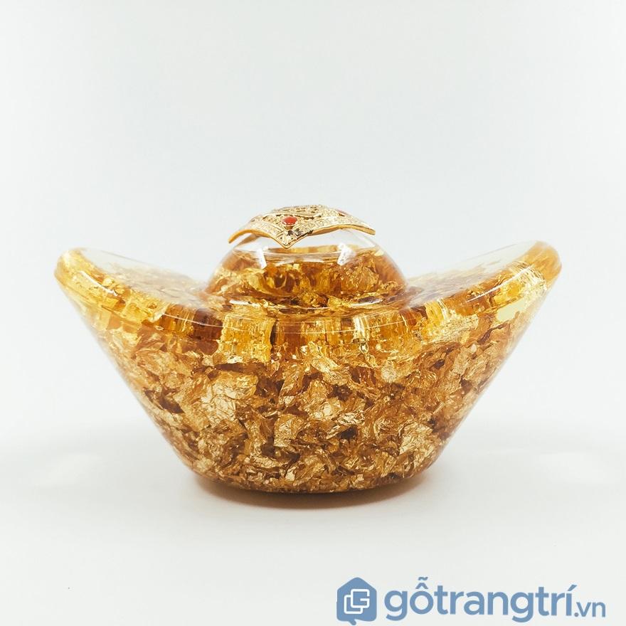 Thỏi vàng phong thủy mang lại tài lộc - ảnh internet