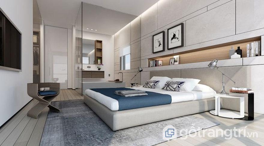 Vải, thảm trải sàn phòng ngủ (Ảnh: Internet)