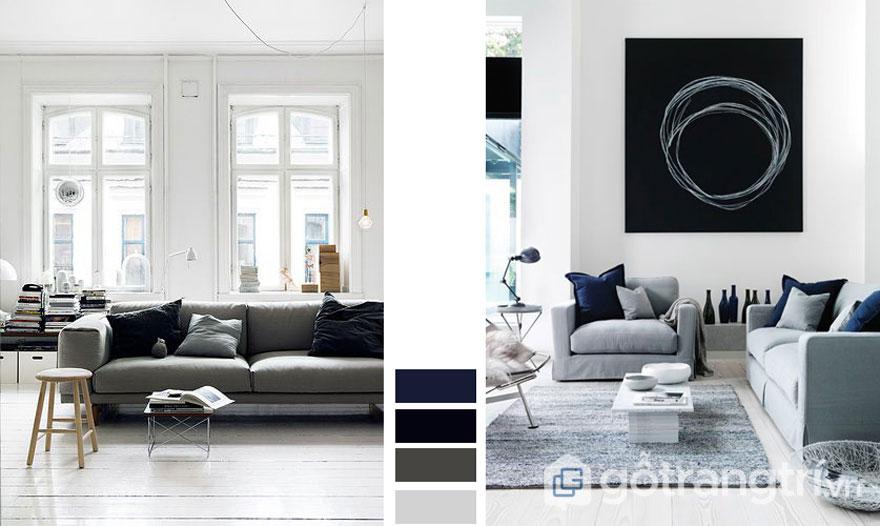 Sắc trắng tôn vinh lên vẻ đẹp đồ nội thất (Ảnh: Intenet)