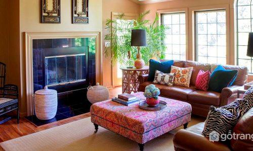 Ứng dụng phong cách thiết kế nội thất bohemian cho không gian nhà ở