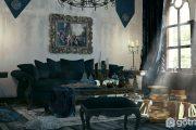 Để ngôi nhà sang trọng và huyền bí hãy chọn phong cách nội thất Gothic