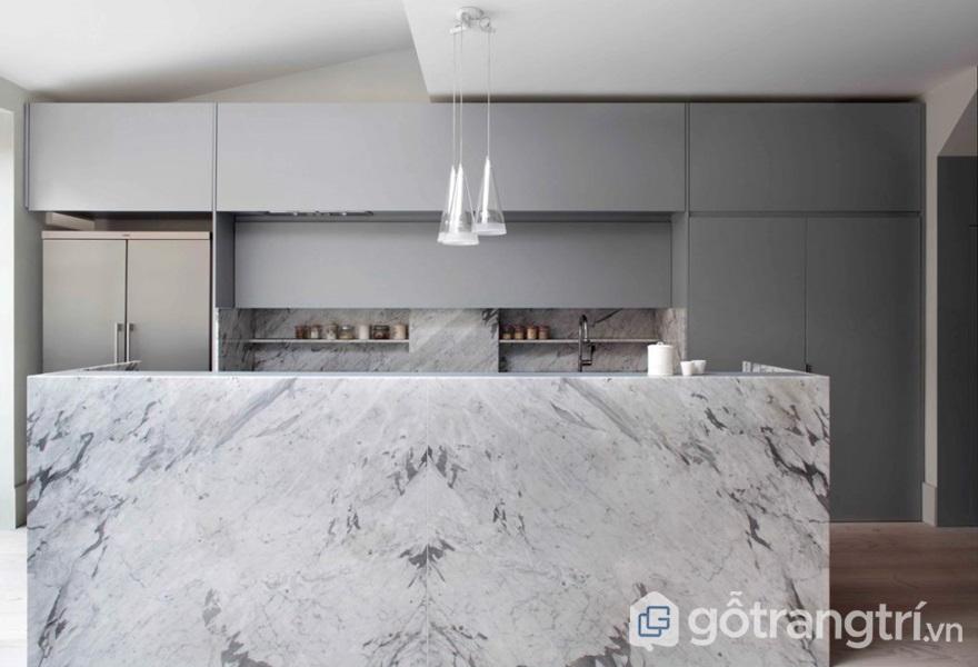 Ứng dụng đá granite trong phòng bếp - ảnh internet