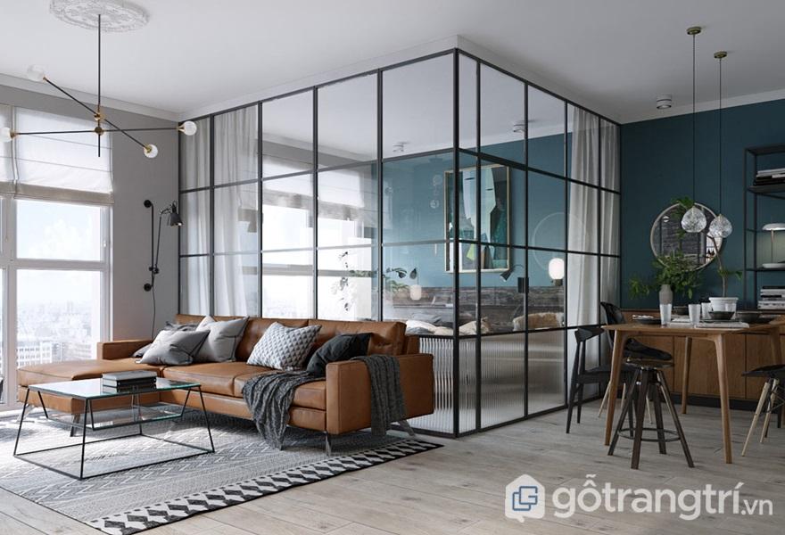 Ứng dụng kính trong thiết kế nhà ở hiện đại - ảnh internet