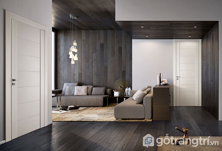 Sàn gỗ hdf - ảnh internet