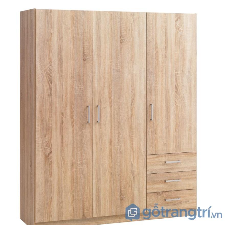 Tủ quần áo gỗ hdf - ảnh internet