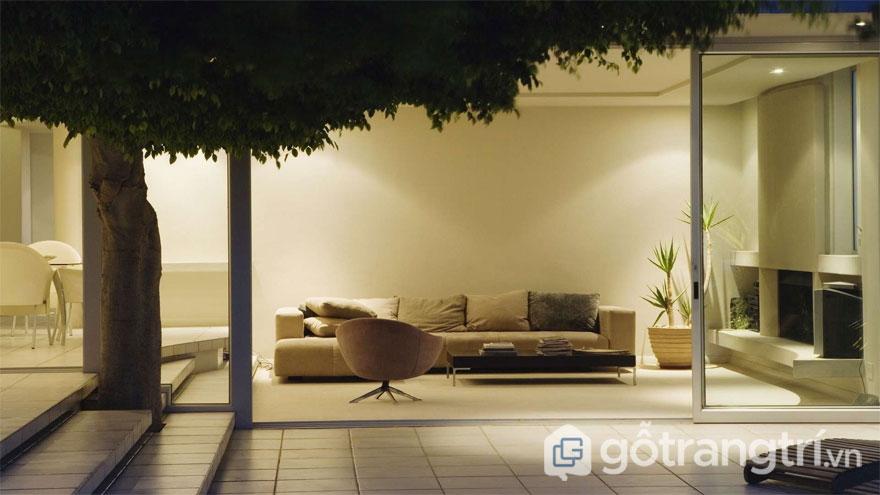 Những đặc trưng cơ bản của phong cách nội thất Eco (Ảnh: Internet)