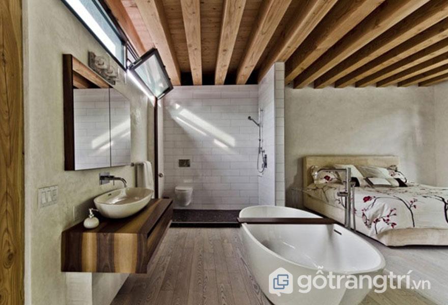 Phòng tắm được bài trí theo phong cách Eco (Ảnh: Internet)
