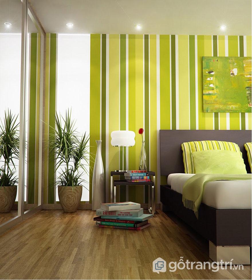 Màu xanh luôn là sự lựa chọn hàng đầu dành cho những ai yêu thích phong cách nội thất Eco (Ảnh: Internet)
