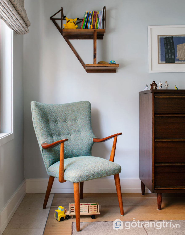 Ghế ngồi tựa được thiết kế khá đơn giản, duyên dáng nhờ sử dụng chất liệu tự nhiên (Ảnh: Internet)