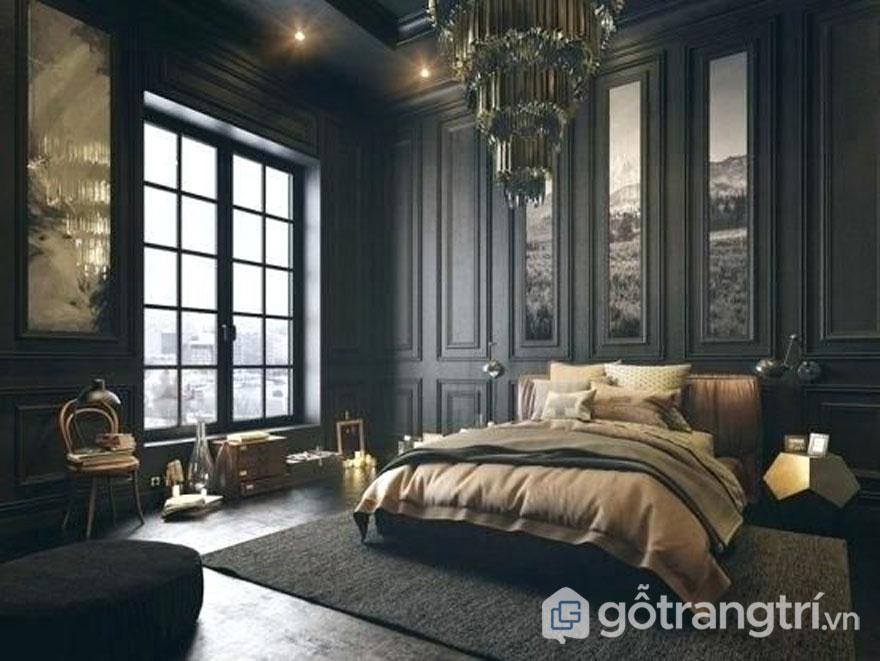 Tia sáng huyền ảo trong căn phòng ngủ (Ảnh: Internet)