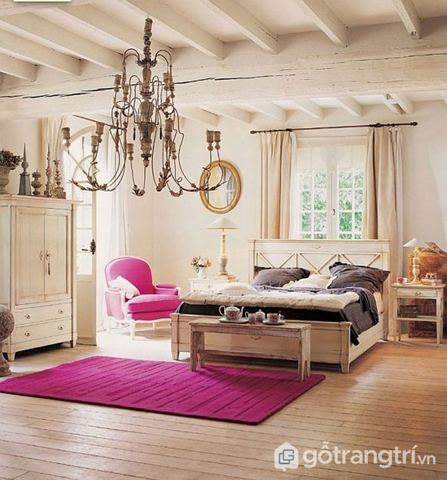 Ánh sáng giúp phòng ngủ trở nên quyến rũ hơn (Ảnh: Internet)