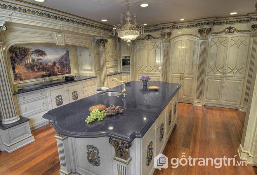 Phong cách baroque trong thiết kế nội thất luôn tạo sự sang trọng, ấn tượng (Ảnh: Internet)