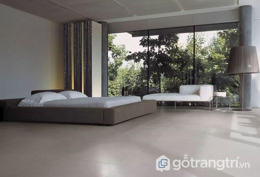 Căn phòng ngủ này thiết kế khá phóng khoáng, rộng rãi với tầm view thiên nhiên tuyệt đẹp (Ảnh: Internet)