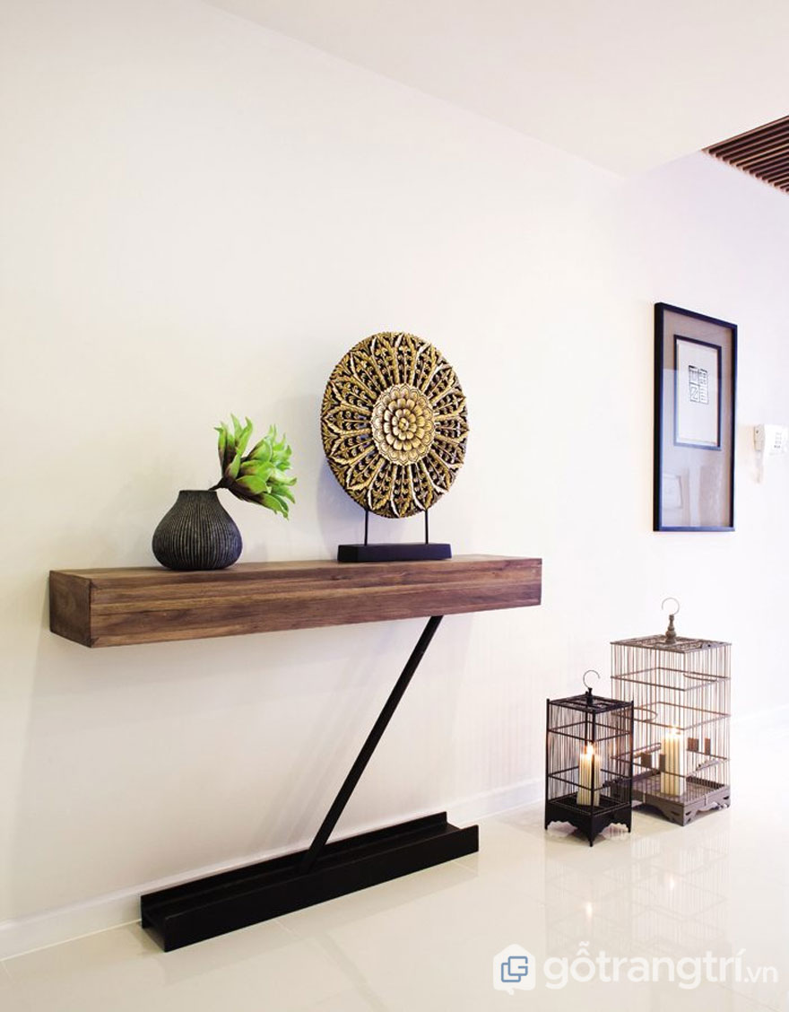Trang trí phòng khách theo phong cách tropical trong thiết kế nội thất với sản phẩm decor (Ảnh: Internet)