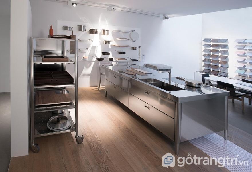 Căn bếp rộng rãi, sạch sẽ cho mọi nhà - ảnh internet
