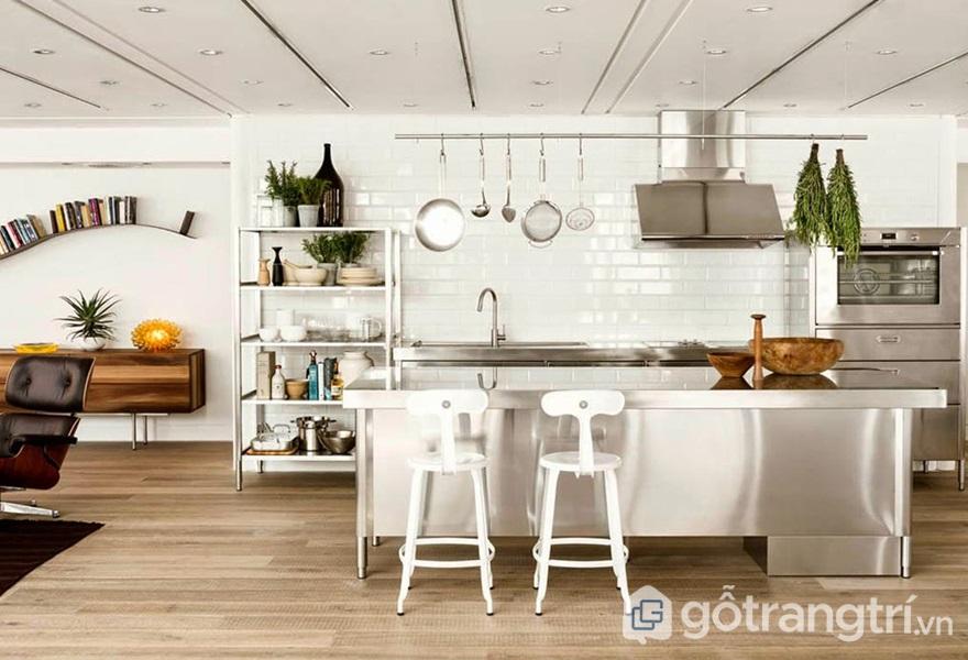 Bếp mang phong cách hiện đại - ảnh internet