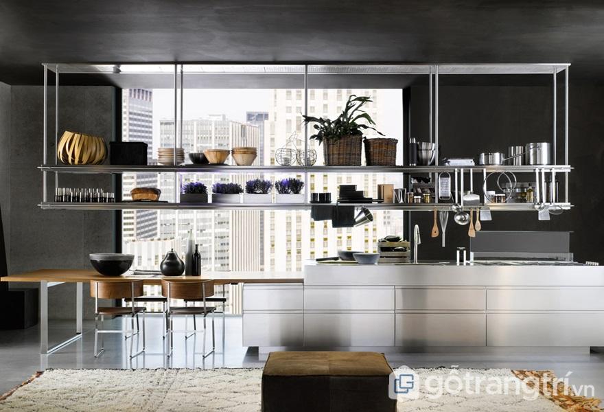 Những đồ nội thất và thiết bị trong nhà bếp làm từ thép không gỉ - ảnh internet