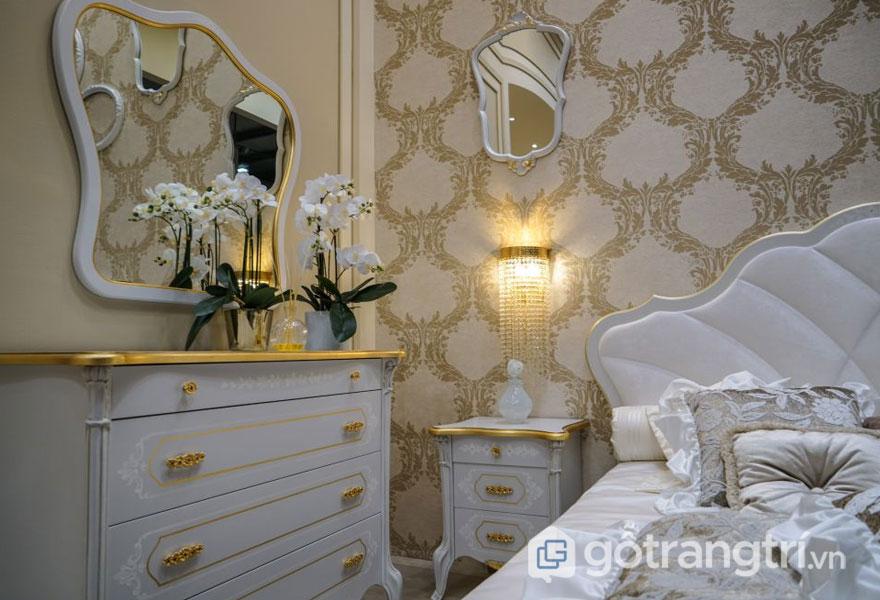 Tấm tường trang trí là một phần của hầu hết nội thất Baroque (Ảnh: Internet)