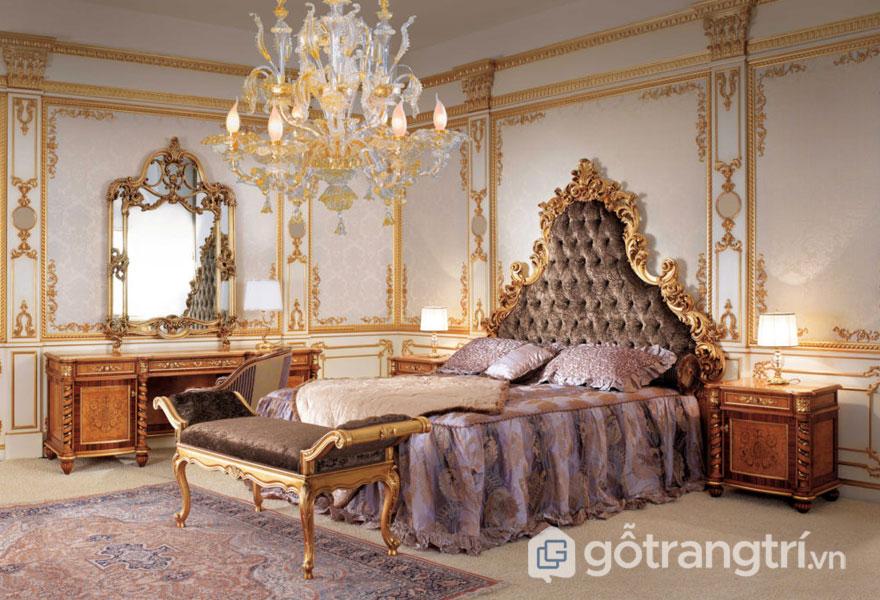 Lên ý tưởng thiết kế nội thất phong cách baroque sang trọng cho nhà ở (Ảnh: Internet)