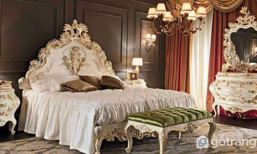 Lên ý tưởng thiết kế nội thất phong cách baroque sang trọng cho nhà ở