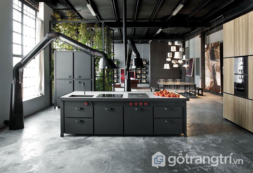 Đưa thiết kế nội thất phong cách loft vào trong nhà ở như thế nào? (Ảnh: Internet)