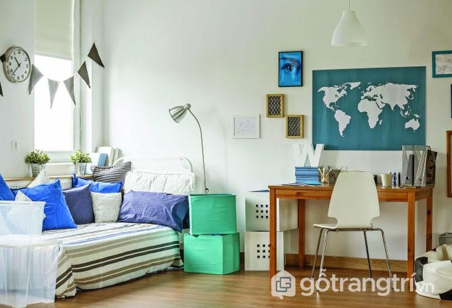 Lên ý tưởng thiết kế nội thất phong cách tropical cho nhà ở đẹp mê mẩn (Ảnh: Internet)
