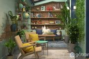 Lên ý tưởng thiết kế nội thất phong cách tropical cho nhà ở đẹp mê mẩn