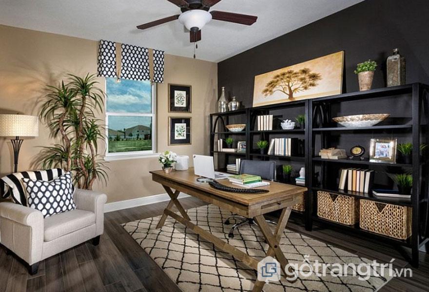 Phòng khách này là sự hòa trộn giữa phong cách nhiệt đới và đương đại (Ảnh: Internet)