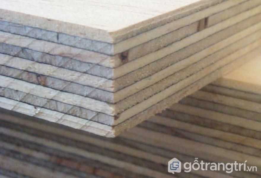 Ván dán được tạo thành từ nhiều lớp gỗ - ảnh internet