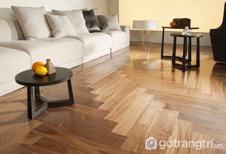 Sàn gỗ công nghiệp - ảnh internet