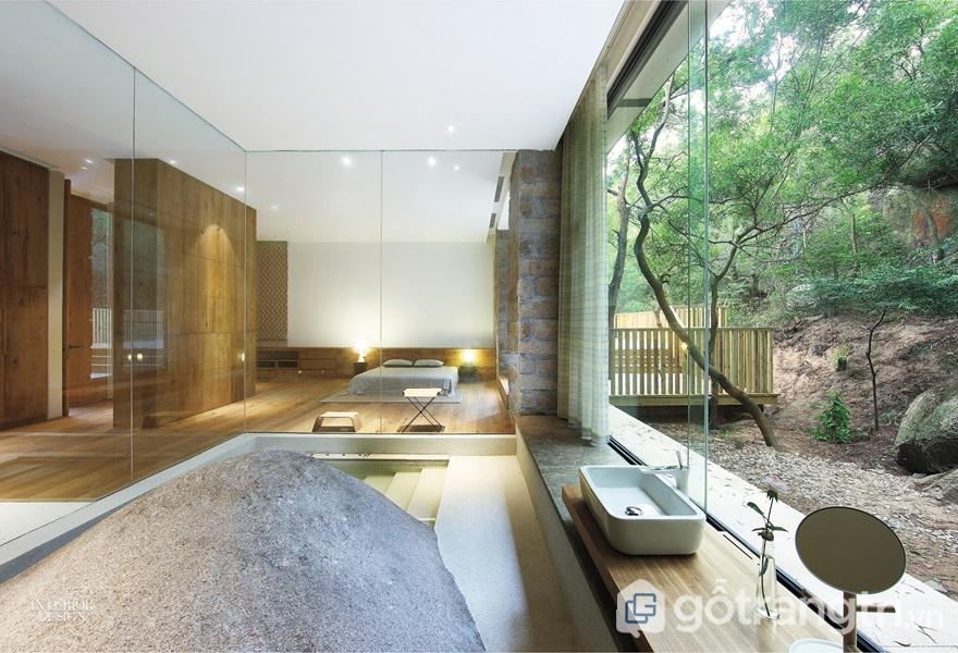 Kính phản quang trong thiết kế nhà ở - ảnh internet