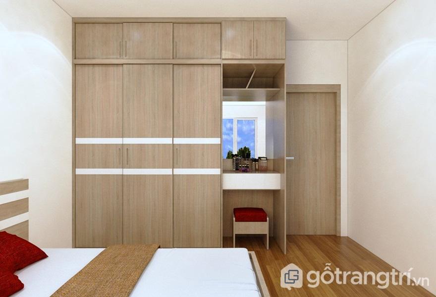 Ứng dụng của gỗ công nghiệp trong thiết kế nội thất - ảnh internet