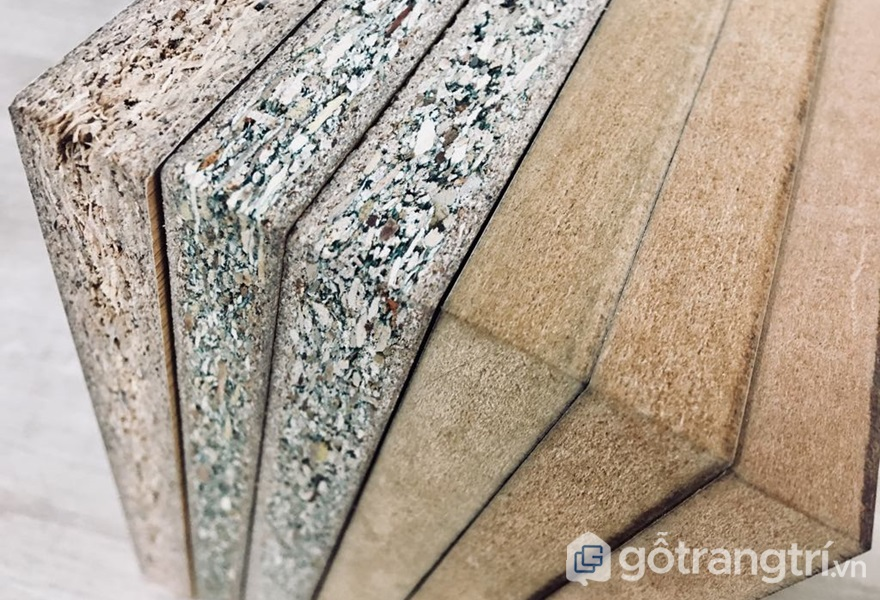 Các loại gỗ công nghiệp - ảnh internet
