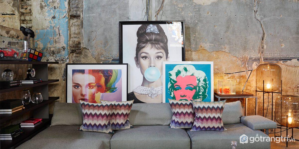 Phong cách Pop Art trong thiết kế nội thất- những điều không thể bỏ qua