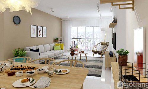 BST 15+ mẫu thiết kế phòng khách nhỏ, đẹp không thể dời mắt