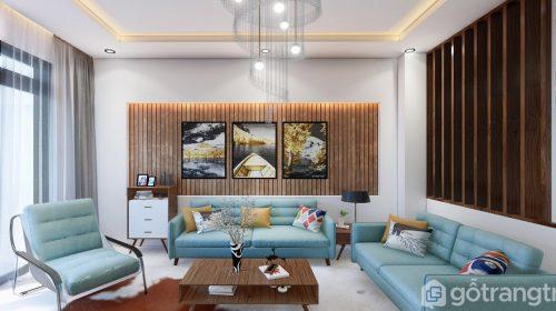 5 ý tưởng sáng tạo phòng khách nhà phố đẹp, sang trọng và tiện nghi
