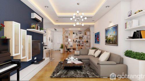 5 ý tưởng cực đỉnh bố trí nội thất phòng khách chung cư phải biết