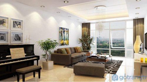 Mãn nhãn với BST 15+ mẫu phòng khách chung cư đẹp nhất 2019