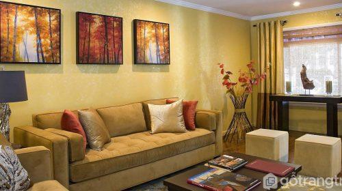 Chọn màu sơn phòng khách đẹp hợp từng bản mệnh, đón vượng khí vào nhà