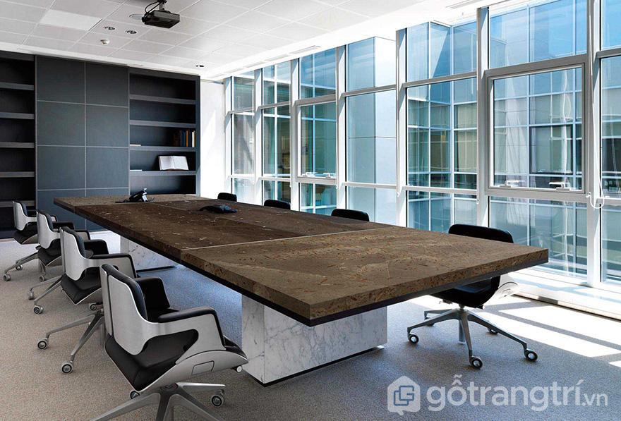 Bàn ghế đá cho phòng họp