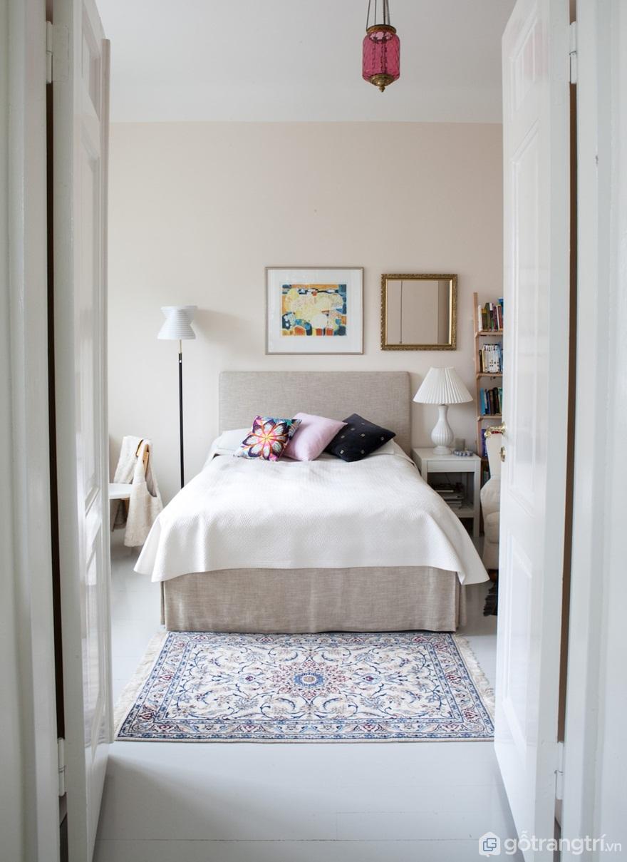 Phòng ngủ theo phong cách Art Nouveau (Ảnh: Internet)