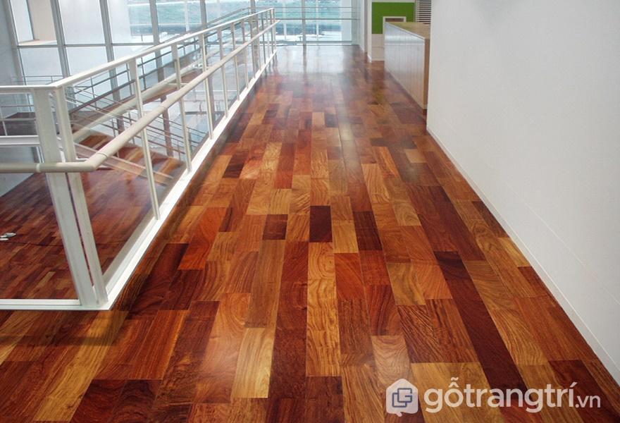 Sàn gỗ hương Nam Phi - ảnh internet