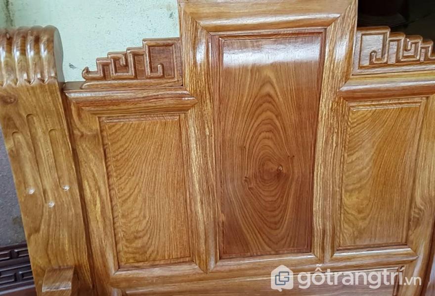 Sản phẩm nội thất gỗ hương với vân gỗ tự nhiên - ảnh internet