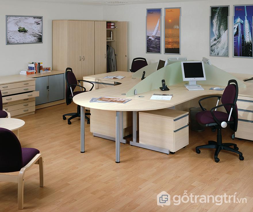 Gỗ trang trí nội thất cho văn phòng
